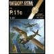 PZL P.11c + laser cut frames