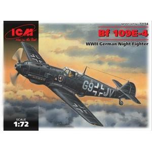Messerschmitt Bf 109E-4 Night Fighter