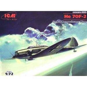 Heinkel He 70F-2, немецкий самолет-разведчик
