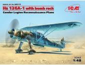 Henschel Hs 126 A-1 with bomb rack, Condor Legion reconnaissance plane