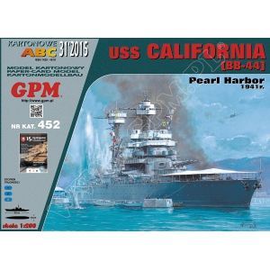 USS California — paper model | FreeTime Online Store