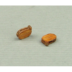 Shoulder Blocks, 4mm (8 pcs.)