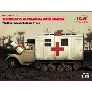 Ford V 3000 S/SS M Maultier с санитарной будкой