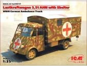 Lastkraftwagen 3,5 t AHN с будкой