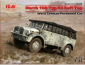Horch 108 Typ 40 с поднятым тентом