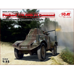 Panhard 178 AMD-35, командирская машина