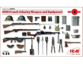 WWI French Infantry Weapon and Equipment