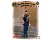 Офицер Республиканской гвардии Франции