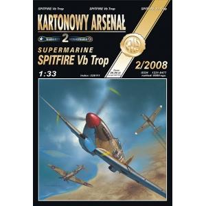 Spitfire Vb Trop + остекление кабины