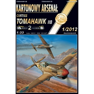 Curtiss Tomahawk IIB + лазерная резка + остекление кабины + стволы + колеса