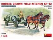 Horses Drawn Field Kitchen KP-42
