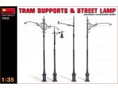 Tram Supports and Street Lamp