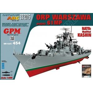 ORP Warszawa (пр. 61МП, Kashin)