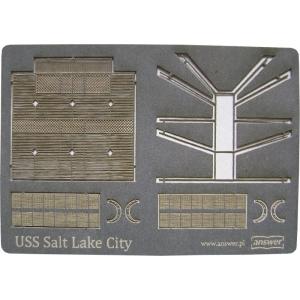 Лазерная резка радара для USS Salt Lake City