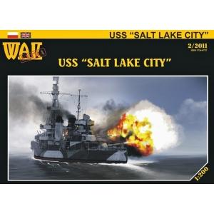 USS Salt Lake City + резка радара