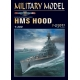 HMS Hood + laser cut frames + barrels + photo-etched parts