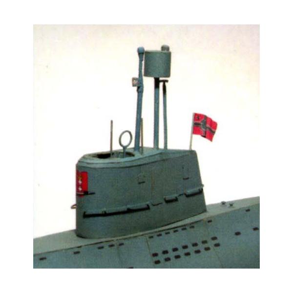 U-boot Walter, type XVII-B — paper model | FreeTime Online ...