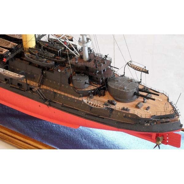Borodino Laser Cut Frames Guns Paper Model