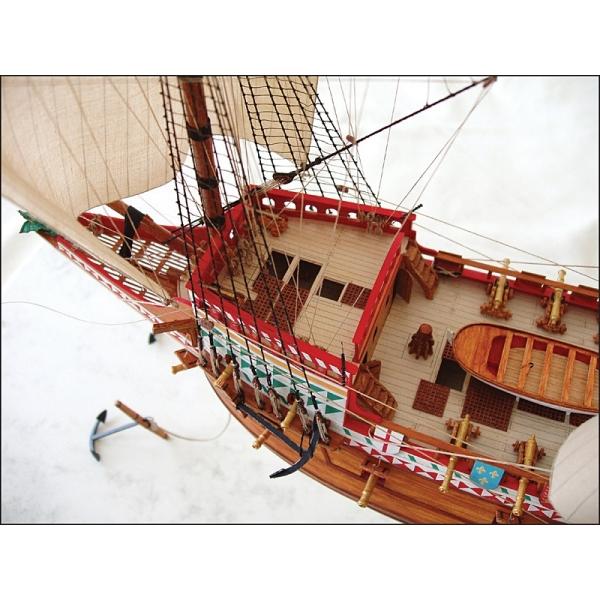 Hms Revenge Sails Masts And Yards Paper Model