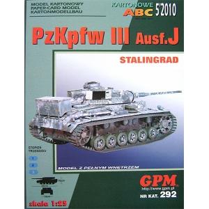 """PzKpfw III Ausf.J """"Stalingrad"""""""