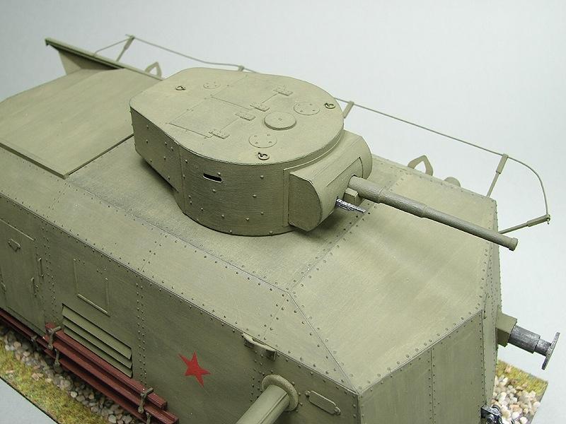 Bdt Heavy Armoured Railroad Car Paper Model Freetime