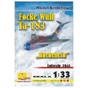 """Focke-Wulf Ta-183 """"Huckebein"""""""