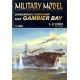 USS Gambier Bay + laser cut frames + barrels