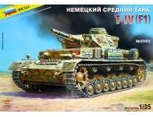 Немецкий средний танк PzKpfw IV Ausf.F1