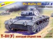 Немецкий средний танк PzKpfw III Ausf.F