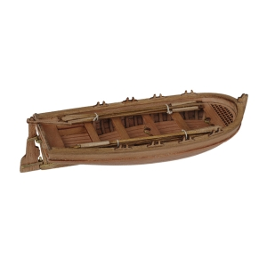 Dinghy with oars, 75mm