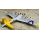 Boeing B-17G Flying Fortress с резкой