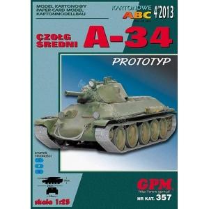 A-34 + laser cut tracks