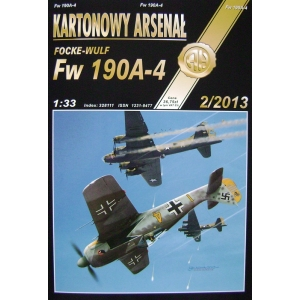 Focke-Wulf Fw 190A-4 + laser cut frames + vacu canopy + barrels + wheels