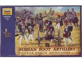 Русская пешая артиллерия, 1812-1814 гг.