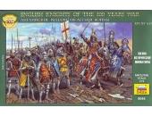 Английские рыцари 100-летней войны, XIV-XV вв.
