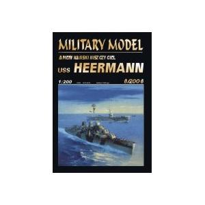 USS Heermann + лазерная резка + стволы