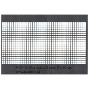 100x50mm grid with 2.0mm cells