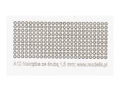 Гайки с внутренней частью 1.5мм (250 штук)