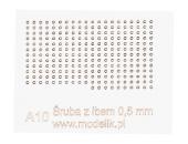 Головки болтов 0.5мм (250 штук)