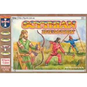 Скифские воины, VII-II век до н.э.