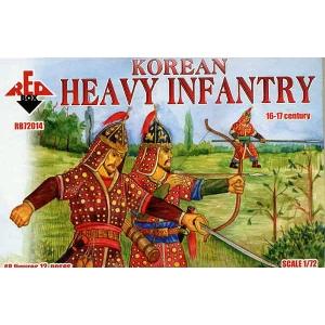 Корейская тяжелая пехота, XVI-XVII век