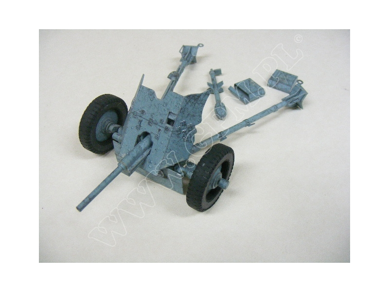 German 50 Mm Anti Tank Gun: PaK 35/36, 37mm — Paper Model