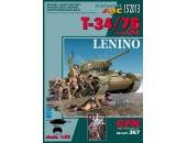 Т-34/76 обр. 1943, Битва под Ленино