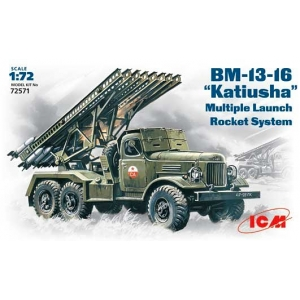 "BM-13-16 ""Katyusha"" on a ZiL-157 truck"