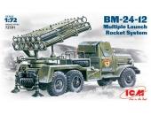 БМ-24-12 на базе ЗиЛ-157