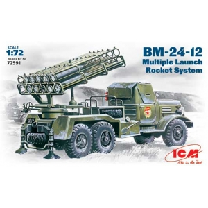 BM-24-12 on a ZiL-157 truck