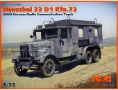 Henschel 33 D1 (Kfz. 72), машина радиосвязи