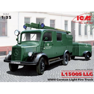 mercedes-benz l 1500 s llg — plastic model | freetime online store