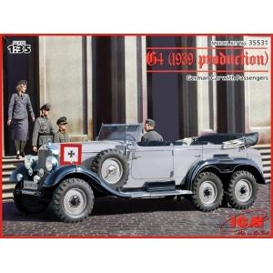 Mercedes-Benz G4 обр. 1939 с офицерами