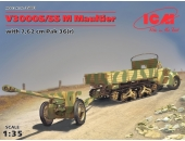 Ford V 3000 S/SS M Maultier с пушкой Pak 36(r)